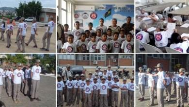 Photo of Chapada: Projeto da PM 'Polícia Mirim' muda o cotidiano de crianças de bairro em Itaberaba