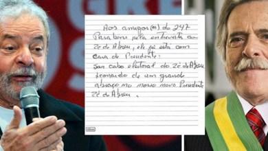 """Photo of #Vídeo: """"Zé de Abreu está com cara de presidente e sou seu cabo eleitoral"""", diz Lula da prisão"""