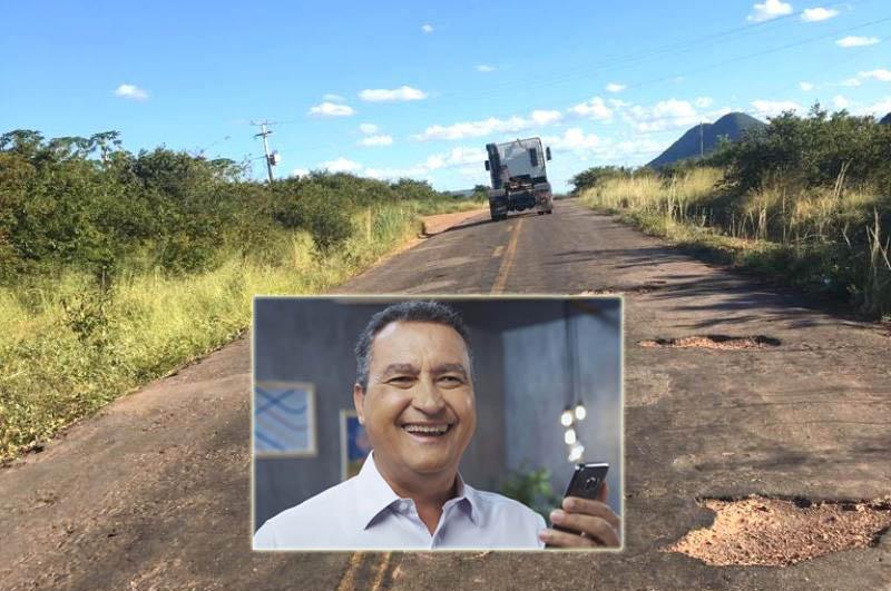 Chapada: Rui confirma encaminhamento de obra para recuperar BA-142 que interliga municípios da região