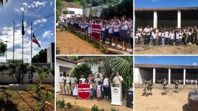 Photo of Chapada: Comando da PM dá continuidade a projeto de resgate ao civismo nas escolas municipais de Itaberaba