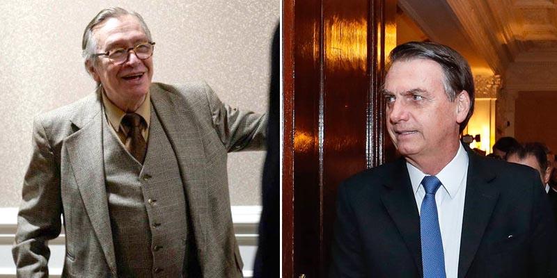 """#Polêmica: Olavo de Carvalho detona governo Bolsonaro; """"Se continuar assim, mais seis meses e acabou"""""""