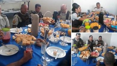 Photo of Chapada: Policiais militares de Itaberaba participam de café da manhã com comandante