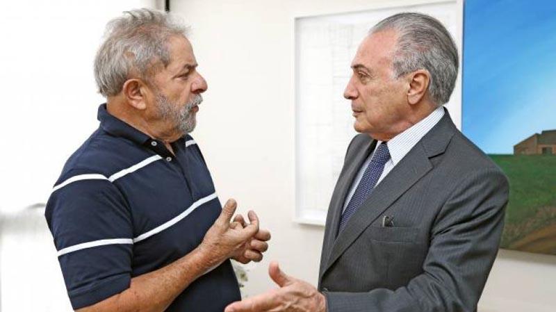 """Lula comenta prisão de Temer e diz que """"Lava Jato não precisa de pirotecnia para sobreviver"""""""