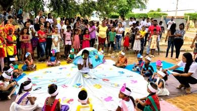 Photo of Chapada: Estudantes de Itaetê apresentam projetos de arte e cultura durante Feira Literária no distrito de Colônia