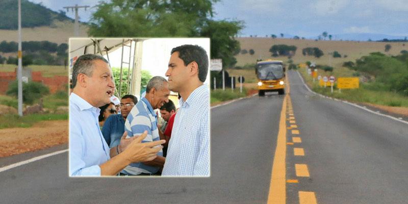 Chapada: Prefeito consegue recuperação de estrada entre Itaberaba e Iaçu; obra custará R$20 milhões