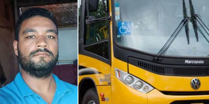 Chapada: Motorista de ônibus escolar é morto a tiros no município de Utinga