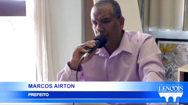 Chapada: Prefeito do município de Lençóis inicia 'bate-papo' com cidadãos através da internet