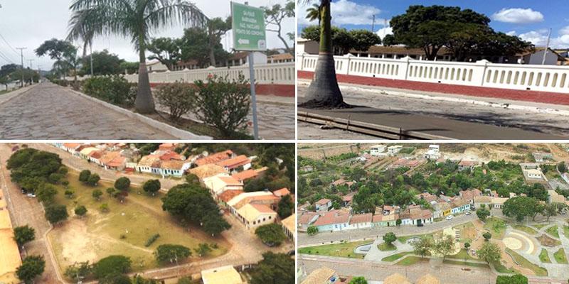 Chapada: Moradores de Rio de Contas ficam indignados com demolição de canteiros de flores