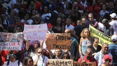 Photo of Deputado federal volta a defender aprovação de orçamento impositivo para a educação durante protesto
