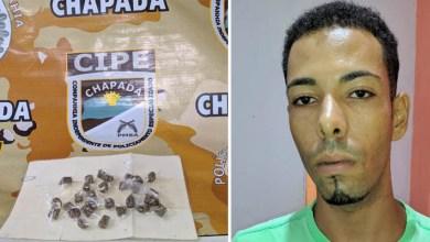 Photo of Chapada: Policiais da Cipe prendem traficante em flagrante com drogas no município de Ruy Barbosa