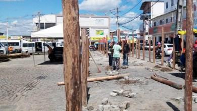 Photo of Chapada: Estrutura de barracas do São João de Itaberaba está sendo montada no circuito oficial
