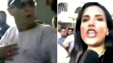 Photo of #Vídeo: Repórter do SBT sofre tentativa de furto ao vivo durante velório de Gabriel Diniz