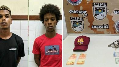 Photo of Chapada: Dois homens são presos com arma de fogo por policiais da Cipe no município de Ruy Barbosa