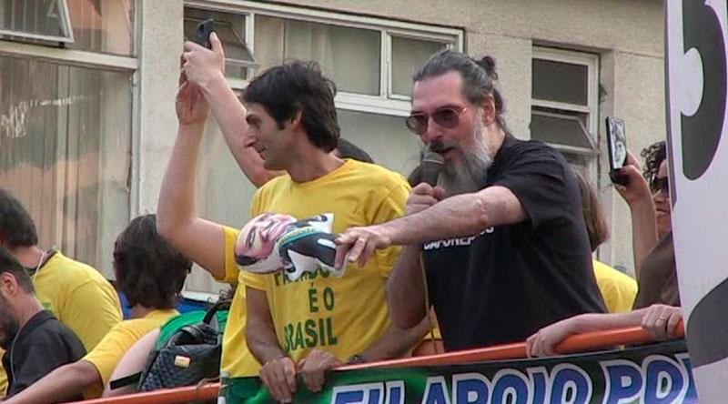 #Polêmica: Arrependido, Lobão diz que governo é um 'desastre' e dispara contra Bolsonaro