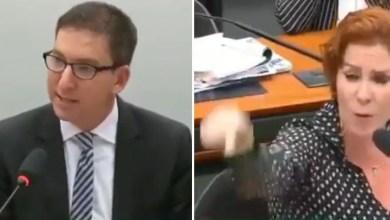 """Photo of #Vídeo: """"Você vai se arrepender muito por ter desejado isso"""", rebate Glenn a questionamento de deputada do PSL"""