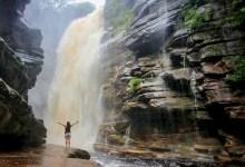 Photo of Chapada: Volume de água da Cachoeira do Mosquito deixa local ainda mais encantador; veja vídeo
