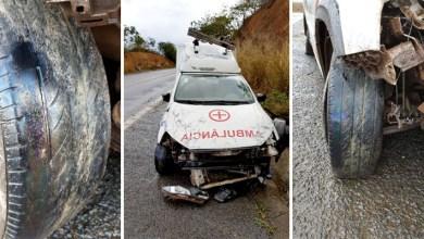 Photo of Chapada: Ambulância de Mucugê se envolve em acidente e moradores denunciam situação dos veículos