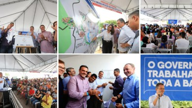 Photo of Governador entrega sistema integrado de água para quatro municípios da Chapada Norte