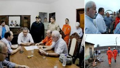 Photo of #Bahia: Rui Costa visita a cidade Coronel João Sá após fortes chuvas atingirem a região