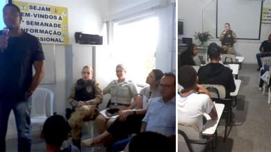 Photo of Chapada: Cipe fortalece 'Semana de Informação Profissional' realizada por escola de Ruy Barbosa