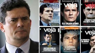 Photo of #Brasil: Revista Veja faz 'mea culpa' sobre casos de apoio a Sergio Moro em editorial