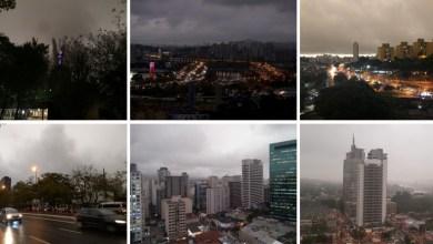 Photo of #Vídeos: Dia vira 'noite' em São Paulo com frente fria e fumaça vinda de queimadas da Amazônia