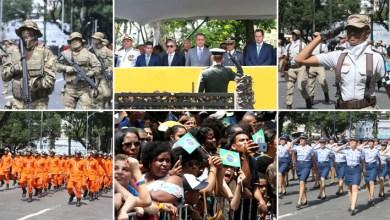 Photo of #Bahia: Desfile cívico em Salvador marca as comemorações dos 197 anos de Independência do Brasil