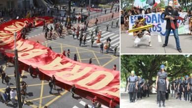 Photo of 'Grito dos Excluídos' leva manifestantes contra Bolsonaro às ruas das capitais do Brasil neste 7 de Setembro