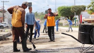 Photo of Chapada: Trechos críticos de avenida em Itaberaba são recuperados pela gestão municipal
