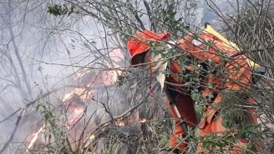 Photo of Chapada: Área de vegetação entre Rio de Contas e Livramento é atingida por incêndio de grandes proporções