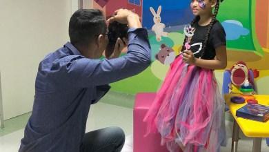 Photo of #Salvador: Pacientes do HGRS são fotografados para exposição na Semana da Criança