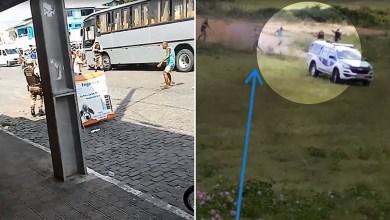 Photo of #Vídeo: Policiais militares matam homem com transtorno metal que estava armado em município baiano