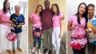 Photo of Chapada: Equipes da Secretaria de Educação de Itaberaba reforçam campanha Outubro Rosa