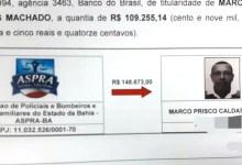 Photo of #Polêmica: Movimentação de R$148 mil das contas da Aspra para Prisco é flagrada em investigação