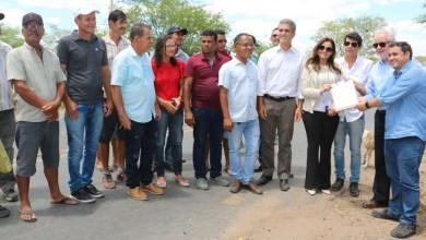 Photo of #Bahia: Evento marca autorização para obra na BA-490 e entrega de ambulância em Rafael Jambeiro