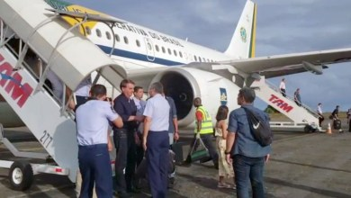 Photo of #Bahia: Bolsonaro já está em Salvador para passar recesso de final de ano na Base de Aratu