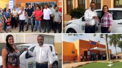 Photo of Chapada: Prefeito Joyuson Vieira faz entrega de veículos e de posto de saúde neste final de ano em Utinga
