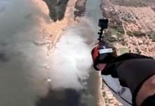 Photo of Chapada: Programa 'Expedição Bahia' vai a Jacobina e mostra saltos de asa-delta e Wingsuit com o paraquedista Sabiá