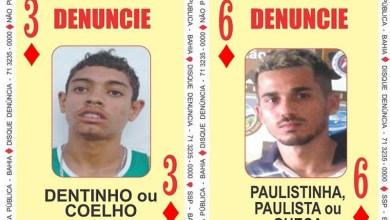 Photo of #Bahia: SSP atualiza duas novas cartas do 'baralho do crime; bandidos são procurados por latrocínio e homicídio