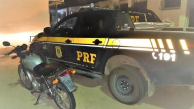 Photo of #Bahia: Motocicleta com sinais de adulteração é apreendida em Rafael Jambeiro pela PRF
