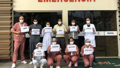 Photo of Seabra: Enfermeiros do Hospital da Chapada pedem para que população fique em casa durante pandemia