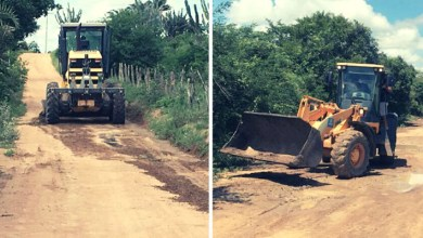 Photo of #Chapada: Após fortes chuvas, prefeitura de Itaberaba recupera estradas danificadas na zona rural