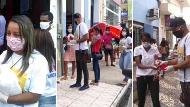 Photo of #Chapada: Mais de mil máscaras são entregues por dia no centro de Itaberaba; dois novos casos suspeitos de Covid-19 notificados
