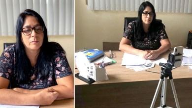 Photo of #Chapada: Prefeita de Nova Redenção debate medidas de enfrentamento à Covid-19 durante conferência com deputado