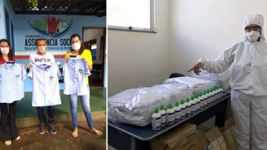 Photo of #Chapada: Conselheiros tutelares de Nova Redenção recebem uniformes; profissionais da saúde também são beneficiados