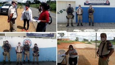 Photo of #Chapada: Comandante do 11º BPM confere atuação em barreiras sanitárias de Boa Vista do Tupim, Wagner e Utinga