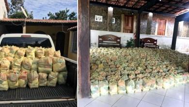 Photo of #Chapada: Prefeitura de Nova Redenção distribui 500 cestas básicas adquiridas com recursos doados pelos vereadores