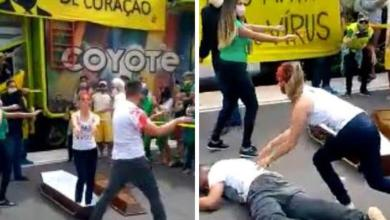 Photo of #Vídeo: Dançando com caixões ao som de música de Michael Jackson, bolsonaristas debocham de mortes por Covid-19
