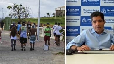 Photo of #Salvador: Após aglomeração na orla, prefeito anuncia interdição por uma semana do calçadão entre Porto da Barra e Ondina