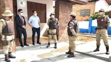 Photo of #Chapada: Prefeito de Itaetê recebe comitiva militar e base da Rondesp deve ser instalada no município